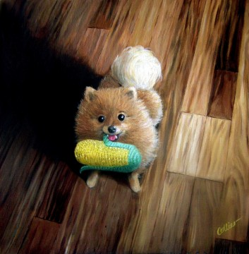 Indy with her Corncob (1006)