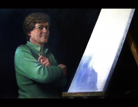 Jim and the Bare Canvas (9104)