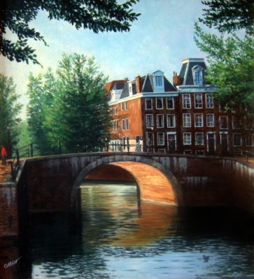 Late Afternoon, Herengracht & Leidsegracht (9601)